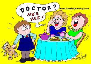 Cartoons from www.frazzledmammy.com, Cartoonist. Illustrator, Cork, Ireland, Maeve O'Keeffe