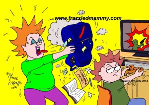 Cartoons from www.frazzledmammy.com