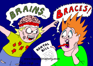 Cartoon from Cartoonist, Maeve O'Keeffe, the Frazzled Mammy