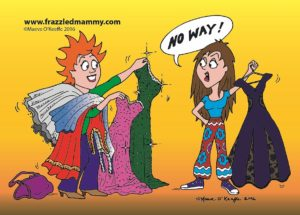 Cartoon: Debs Dress by Maeve O'Keeffe